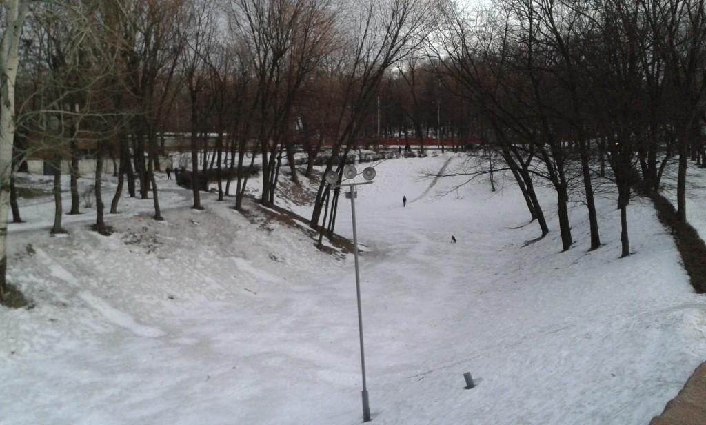Barranco de Babi Yar en Kiev