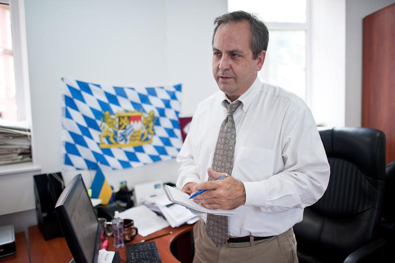 Brian Bonner, directior del semanario Kiev Post