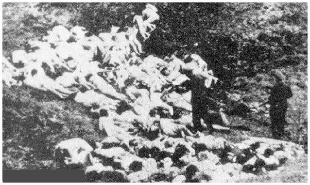 Las víctimas fueron rematadas por los nazis en Babi Yar