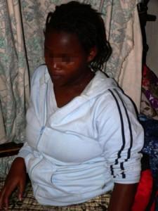 Alice, embarazada con sólo 15 años